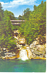 Franconia Notch,NH Sentinel Pine Bridge Postcard
