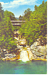Sentinel Pine Bridge Franconia Notch,NH  Postcard