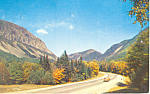 North on Route 3 Franconia Notch,NH  Postcard