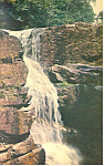 Avalanche Falls, Franconia Notch,NH  Postcard