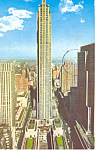 Rockefeller Center, NY  Postcard