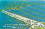 Click here to enlarge image and see more about item p1579: Niagara Power Project Dam NY Postcard