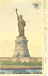 Statue of Liberty New York Harbor  Postcard p15800 1904