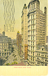 Park Row,New York City, NY  Postcard 1905
