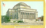 Library Columbia University New York City NY  Postcard p15833 1906