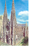 St Patricks New York City  NY  Postcard p15837