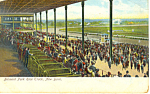 Click here to enlarge image and see more about item p15850: Belmont Park Race Track NY  Postcard p15850