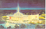 Vatican Pavilion,New York World's Fair  Postcard