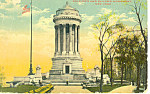 Soldiers Sailors Monument, New York City  Postcard