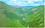 Aerial View Crawford Notch,NH  Postcard