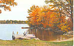 Rust Pond, Wolfeboro, NH Postcard