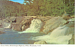 Lower Falls,Kancamagus Highway, NH Postcard