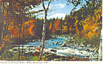 Swift River Gorge,Kancamagus Highway, NH Postcard