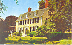 John Paul Jones House,Portsmouth, NH Postcard