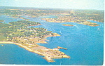 Aerial View,Portsmouth, NH Postcard 1962