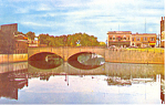 Main Street Bridge, Nashua, NH Postcard