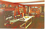 Kitchen,NH Historical Society, Concord Postcard