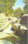 Upper Falls of the Ammonoosuc, NH Postcard