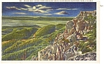 Click here to enlarge image and see more about item p1595: Shenandoah Park VA Crescent Rock Postcard p1595