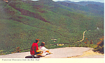 Franconia Mountains NH Postcard