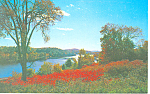 Bridge over Conn. River Hanover, NH Postcard