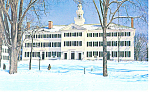 Dartmouth Hall,Dartmouth College Postcard