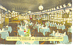 Joe King s Rathskeller NY  Interior Postcard p16014