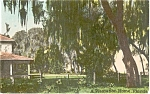 Click here to enlarge image and see more about item p1606: Florida Plantation Home Postcard p1606