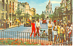 Disney World, Florida Main Street USA Postcard