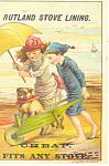 Click to view larger image of Rutland Stove Lining Trade  Card p16137 (Image1)