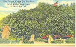 Main Entrance, Watkins Glen NY Postcard