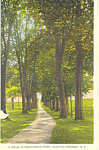 Sanitarium Park Clifton Springs NY Postcard p16147