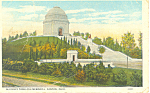 Click here to enlarge image and see more about item p16181: McKinley Tomb Canton OH  Postcard p16181