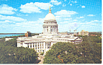 State Capitol Madison WI  Postcard p16190
