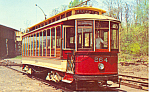Click here to enlarge image and see more about item p16195: Baltimores Streetcar Museum  Postcard