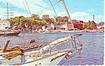 Harbor View, Camden, Maine  Postcard 1974