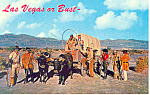 Click here to enlarge image and see more about item p16202: Las Vegas or Bust Las Vegas NV  Postcard p16202