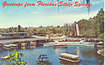 Glass Bottom Boats, Silver Springs, FL Postcard