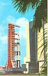 Click here to enlarge image and see more about item p16243: Kennedy Space Center, Daytona Beach, FL Postcard p16243