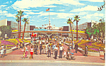 Click here to enlarge image and see more about item p16260: Entrance Tomorrowland Disneyland, CA  Postcard 1971