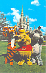 Fantasyland, Disney World, FL  Postcard