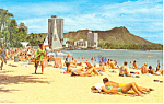 Waikiki Diamond Head Hawaii  Postcard p16281