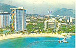 Click here to enlarge image and see more about item p16291: Hilton Hawaiian Village Hawaii  Postcard p16291