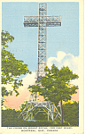 Cross on Mount Royal Montreal Quebec Canada  Postcard p16312