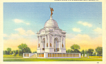 Click here to enlarge image and see more about item p16325: Pennsylvania Memorial Gettysburg, PA  Postcard