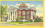 Methodist Church  Emporia  VA Postcard  p16347 1953