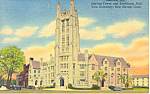Sheffield Hall Yale University CT Postcard p16374 1955