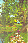 Cypress Gardens,FL, Beauty of  Gardens Postcard
