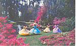 Cypress Gardens,FL, Garden Postcard