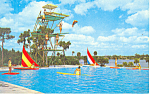 Click here to enlarge image and see more about item p16406: Cypress Gardens  FL Aquaramic Pool Postcard p16406